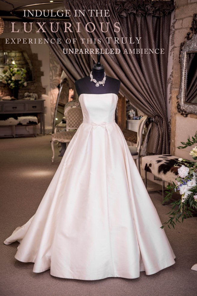 Caroline Castigliano Karoline classic dress traditional wedding dress satin wedding dress bridal dress British wedding dress designer