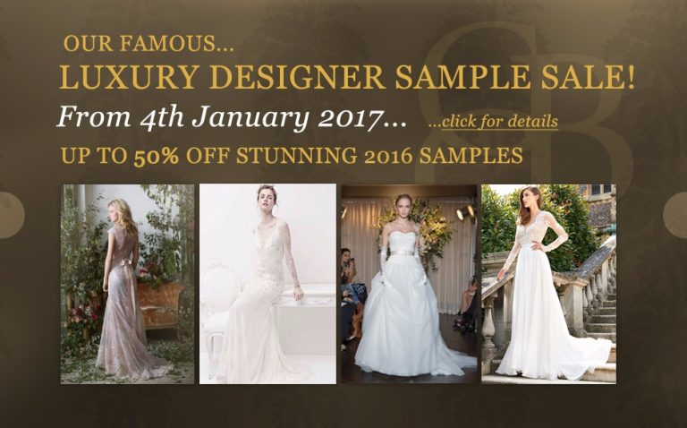 Luxury Designer Sample Sale January 2017!