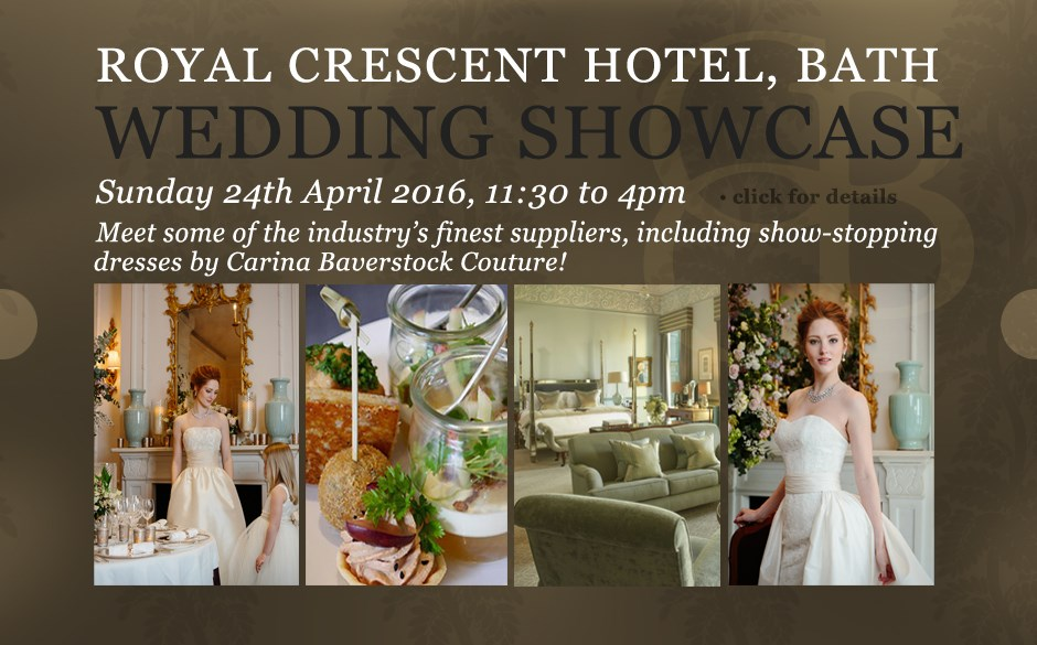 Royal Crescent Wedding Showcase
