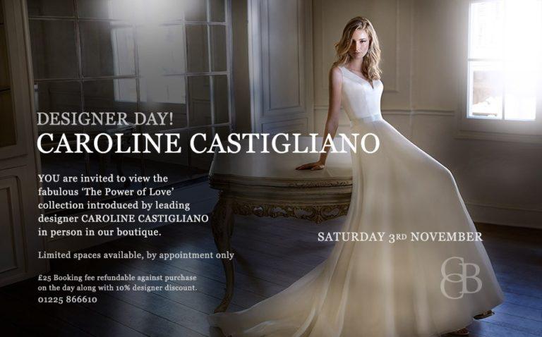 Caroline Castigliano Designer Event 3rd November 2018