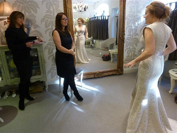 Suzanne Neville designer day in full swing!