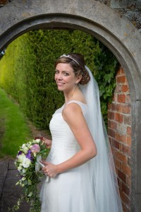 Our beautiful bride Sarah Cornforth