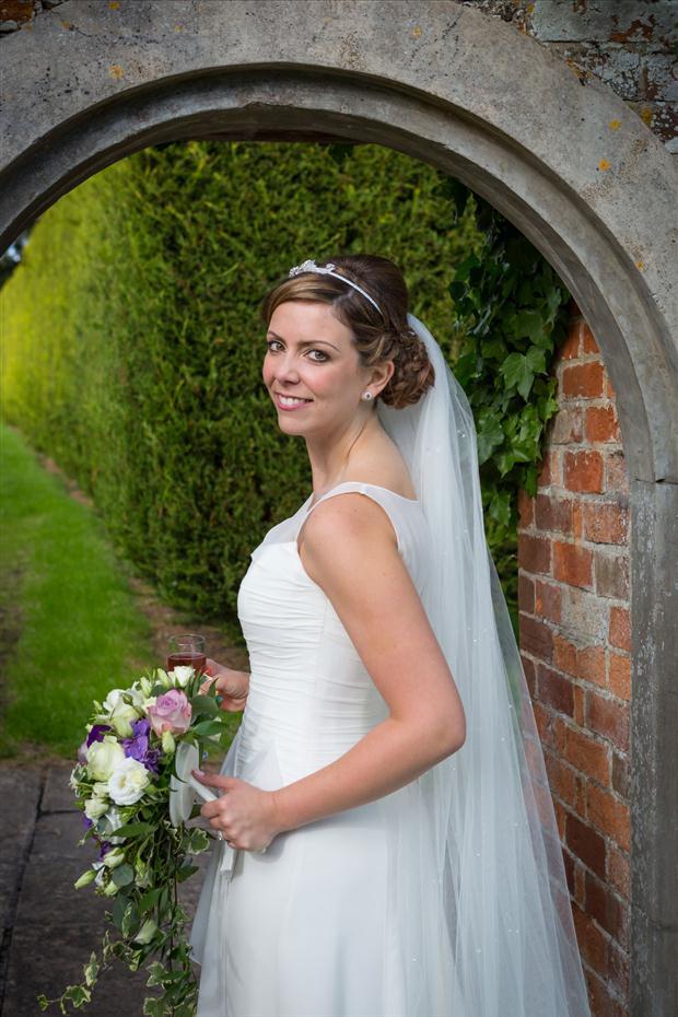 Our beautiful bride Sarah Cornforth