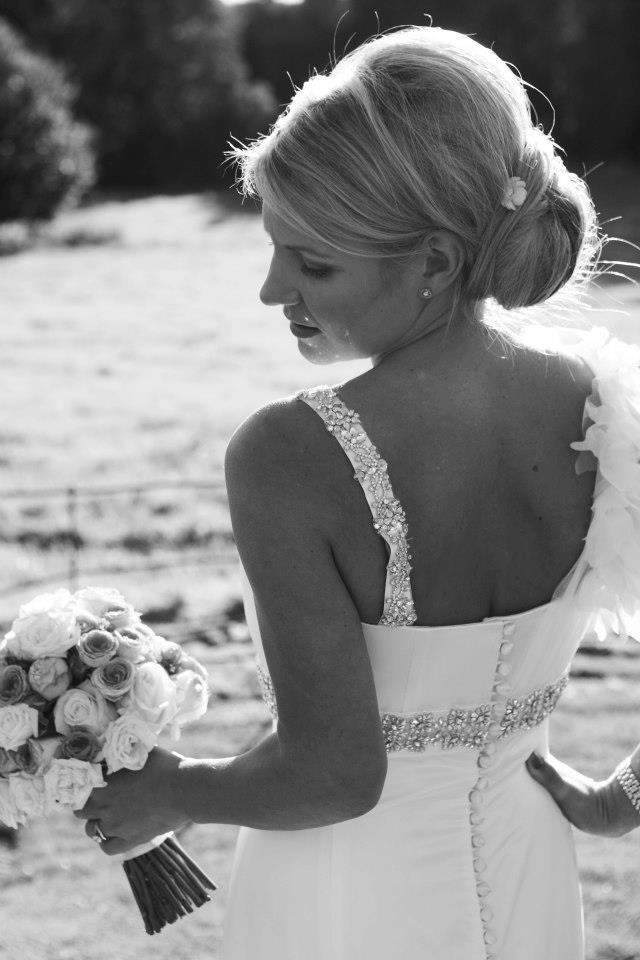 Our lovely bride Melissa Burns
