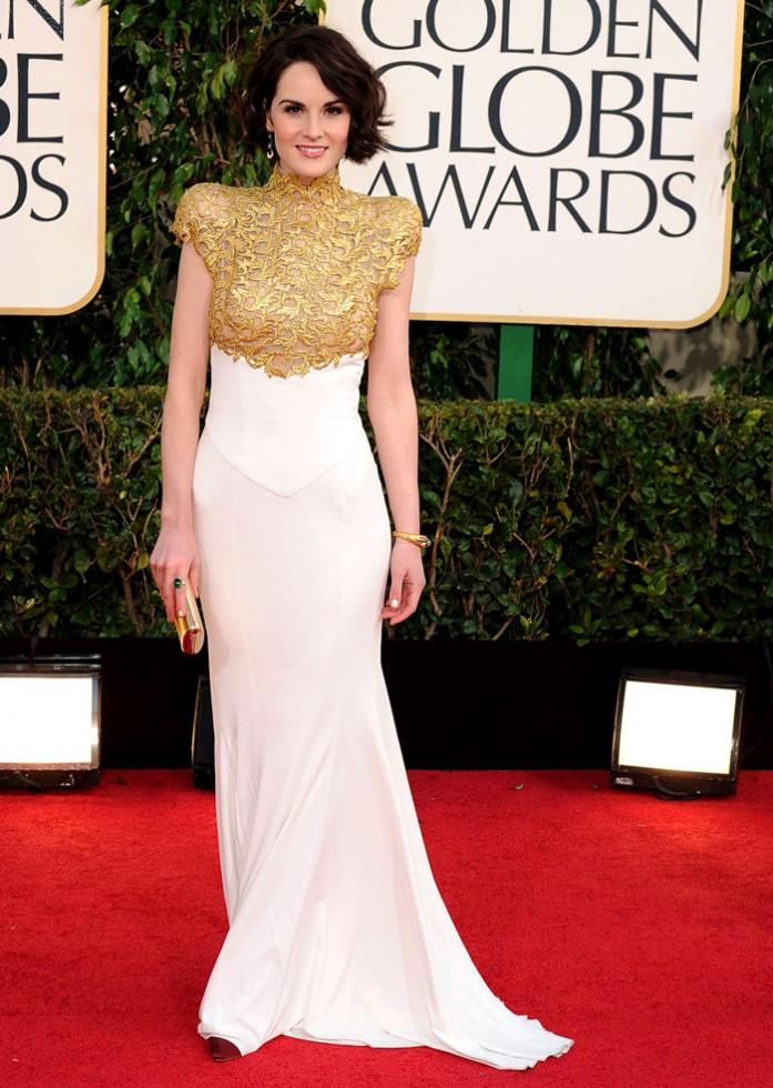 Michelle Dockery Golden Globes Feature