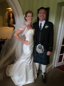 Jennie and Scott – An Edinburgh Enchantment