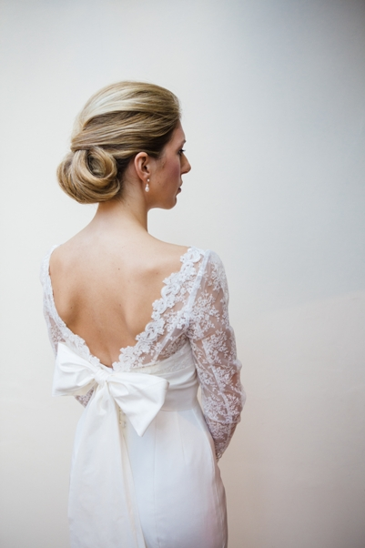 Rebecca and her beautiful Sassi Holford 'Jessica' Gown