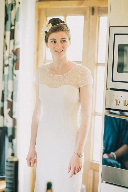 'The Tourmaline felt like the perfect dress for me…'