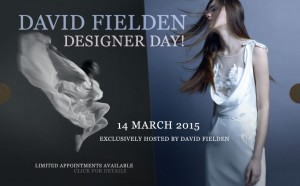 Exclusive – David Fielden Designer Day