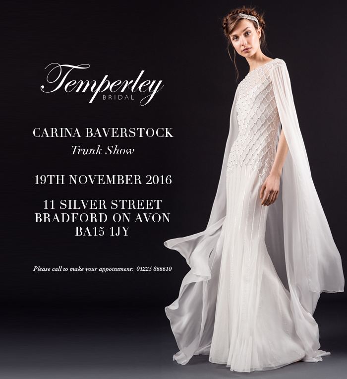 Temperley Designer Day November 19th 2016!