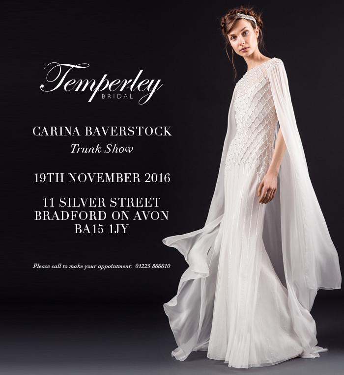 Temperley Designer Day November 19th 2016!