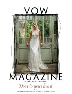 Clinton Lotter in VOW Magazine