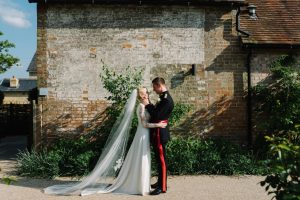 Our beautiful bride Becky…