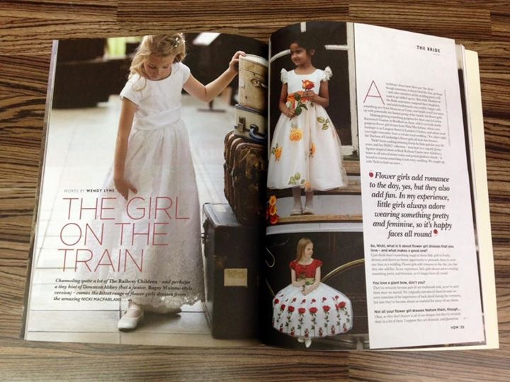Nicki MacFarlane in VOW Magazine…