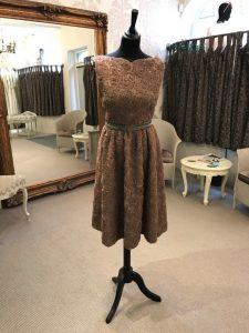 Truffle dress – David Fielden