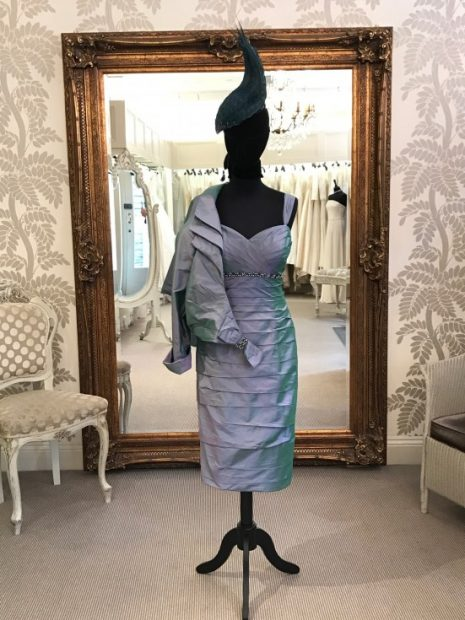 Ian Stuart Peacock Dress