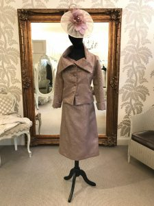 Carina Baverstock Couture- Silk dress and jacket
