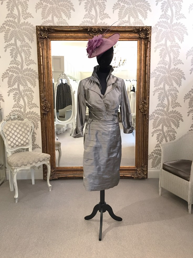 Ian Stuart – Silk dress and jacket