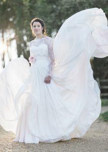 Our bride Rebecca in Naomi Neoh…