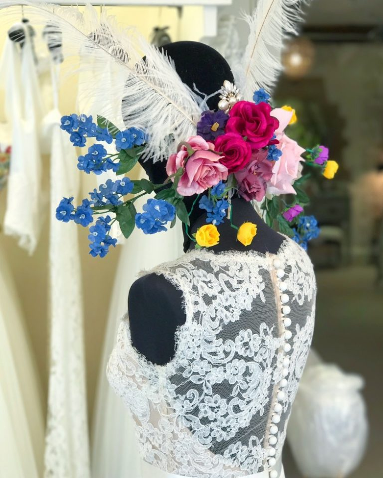 Floral madness of May windows