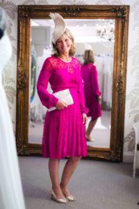 Alice Temperley – Fuschia Silk Dress