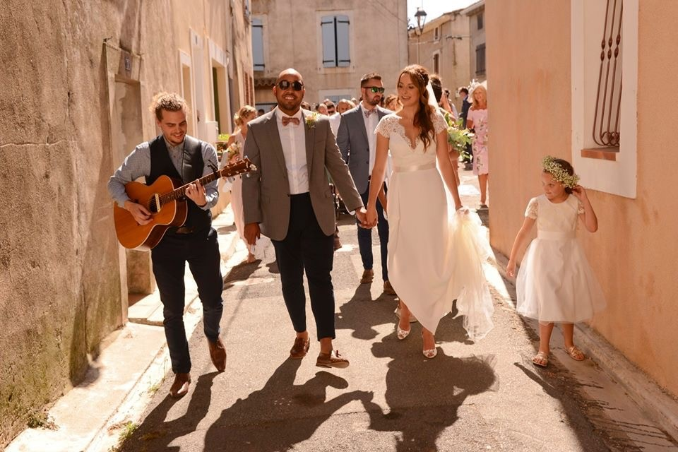 Kelly In Suzanne Neville For A Beautiful French Countryside Wedding