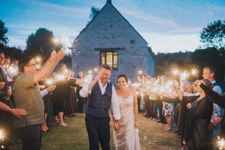 A David Fielden wedding dress for a picture perfect local wedding in Bradford on Avon