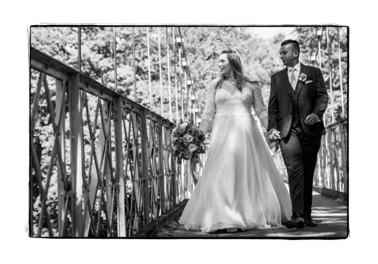 Real bride Poppy falls in love with a Suzanne Neville wedding dress that compliments her curves!