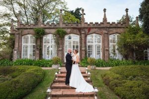 Beautiful bride Hannah found her dream wedding dress at our luxurious bridal boutique near Bath