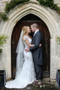 Sally Taylor in her stunning Suzanne Neville gown