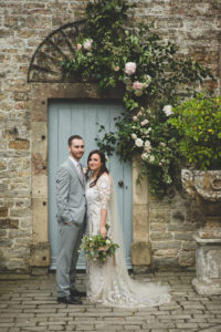 TEMPERLEY BRIDE: The Long Sleeved Obelia Dress by Temperley for a Flower-Filled Festival Inspired Wedding