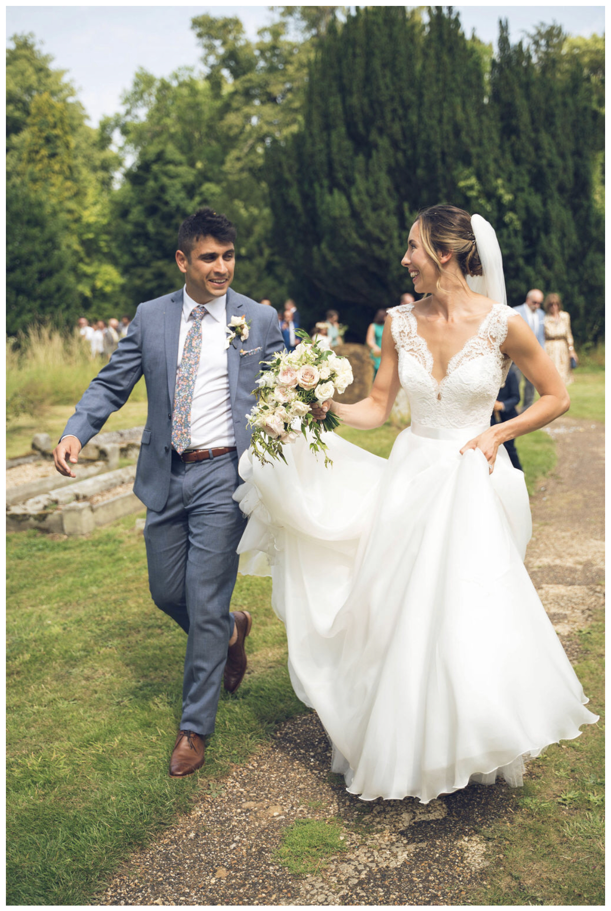 Olympian Samantha Murray looking gorgeous in Suzanne Neville.