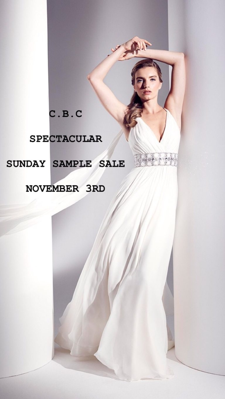 Spectacular Sunday Sample Sale 3rd November 2019