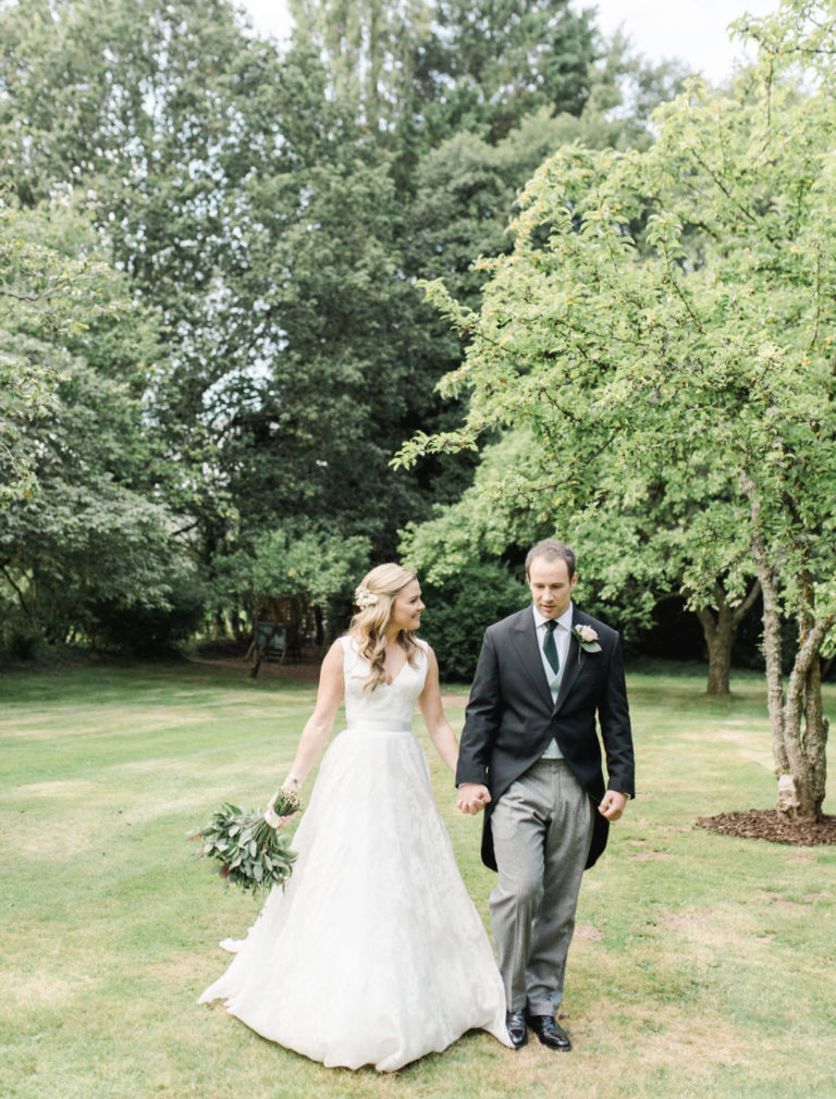 Classic wedding perfection set in charming country church.