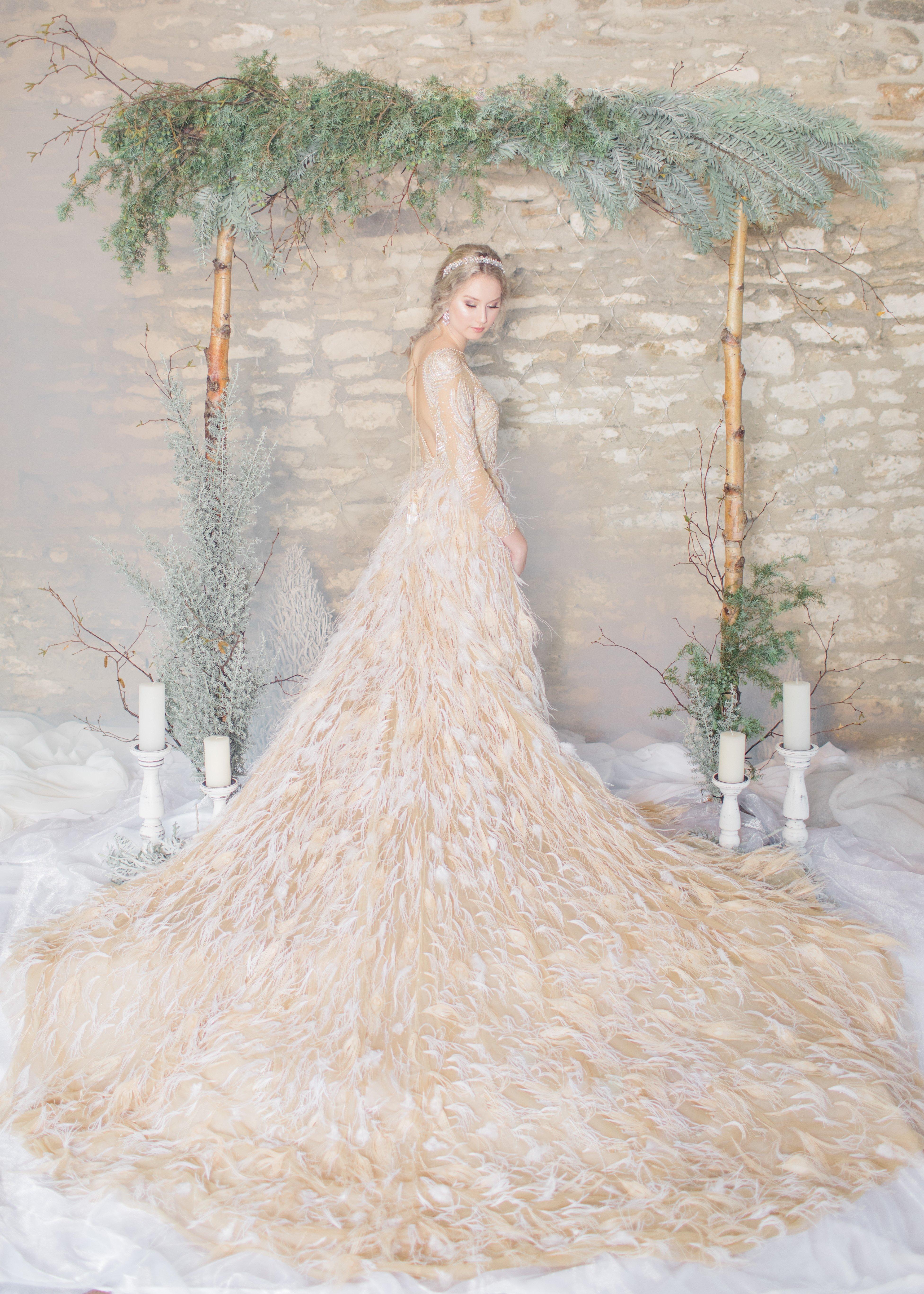 Frozen inspired Disney wedding